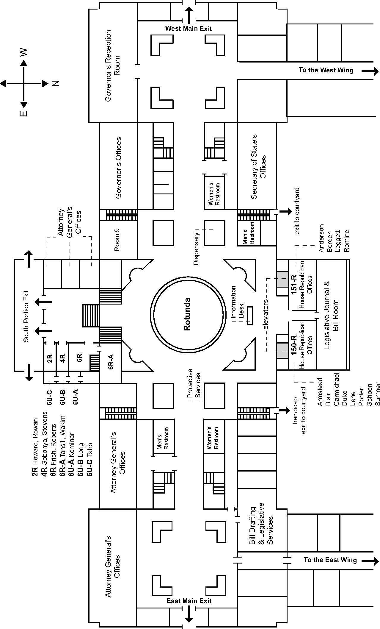 Capitol Visitor Center Indoor Map US Capitol Visitor Center - Map of us capitol building