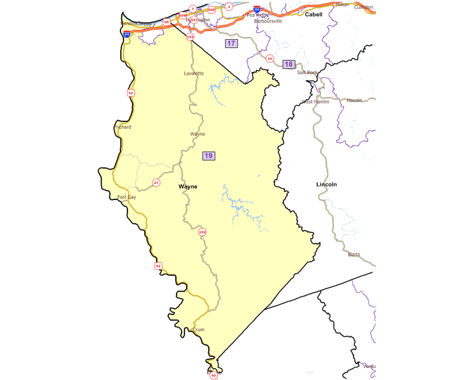 West Virginia Legislature\'s District Maps