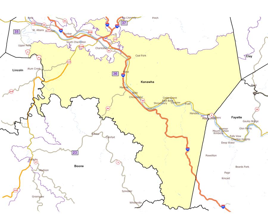 West Virginia Legislature39s District Maps
