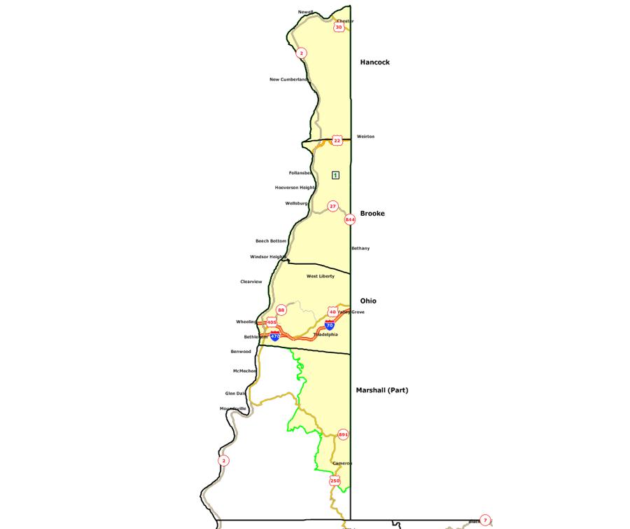 West Virginia Legislature S District Maps