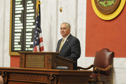 Senate President Earl Ray Tomblin